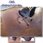 hjh office Exdan -  Vloermat - Glad - Voor harde vloer - 120x150 cm - Transparant