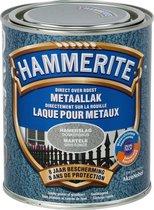 Hammerite Metaallak - Hamerslag - Donkergrijs - 0.75L