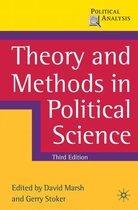 Boek cover Theory and Methods in Political Science van David Marsh