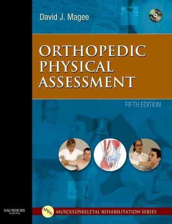 Boek cover Orthopedic Physical Assessment, van David J. Magee, Bpt, Phd, Cm (Hardcover)