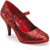 Funtasma Pumps -39 Shoes- GLINDA-50G US 9 Rood