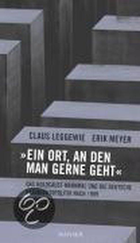 Boek cover Ein Ort, an den man gerne geht van Claus Leggewie (Hardcover)