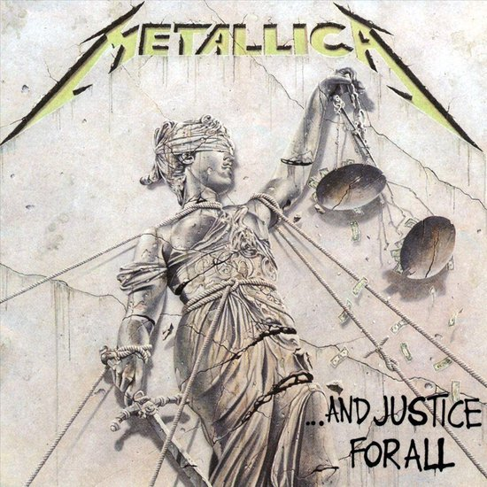 CD cover van And Justice For All van Metallica