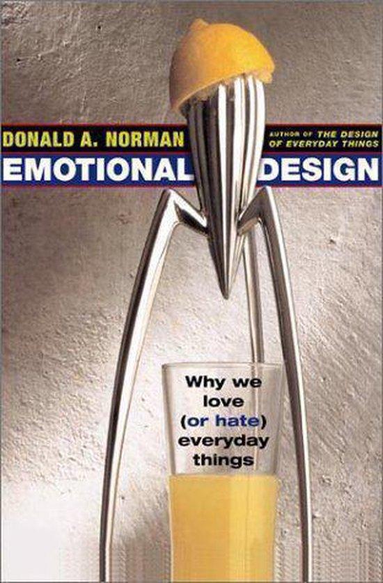 Boek cover Emotional Design van Don Norman (Hardcover)