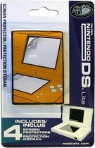 DS Lite Screen Protectors 4-pack -Madcatz-