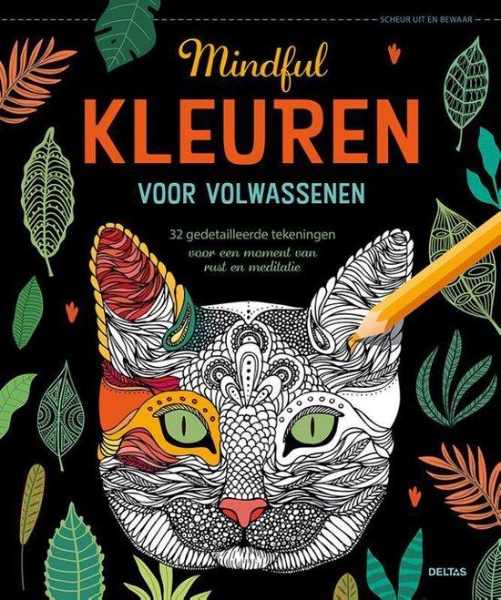 Kleurboek voor volwassenen: Mindful - geen