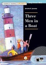 Reading & training - Life Skills B1.2: Three men in a boat Book + cd audio