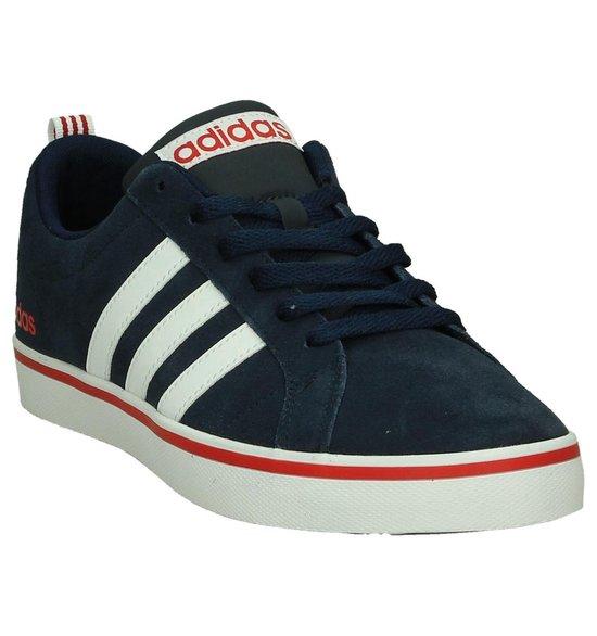 Adidas - Pace Plus  - Sneaker laag sportief - Heren - Maat 43 - Blauw - Collegiate Navy/Ftwr White/Scarle - adidas