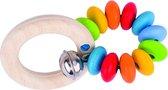 Heimess | Bijtring Regenboog (deels elastisch, zachte kleuren)