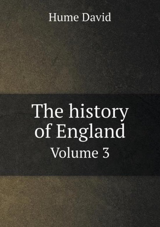 The History of England Volume 3