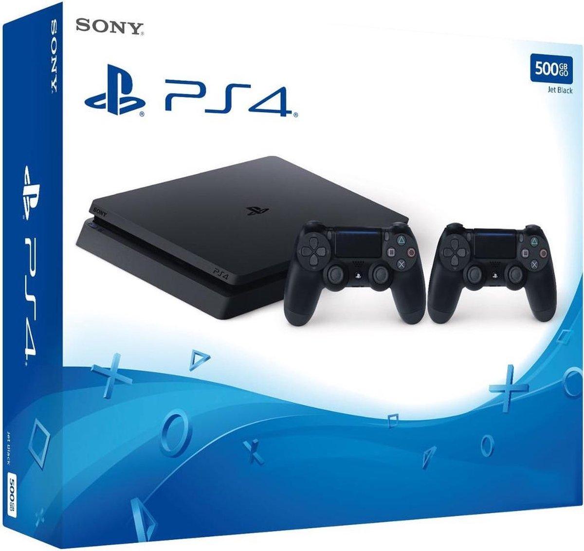 Sony PlayStation 4 Slim 500GB + Dualshock 4 Controller