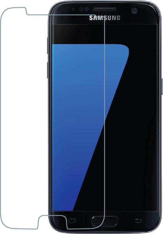 Azuri screenprotector Tempered Glass - Voor Samsung Galaxy S7 - Transparant
