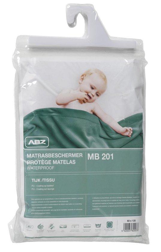ABZ Waterdicht Hoeslakenl 70x140 cm - Wit