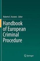 Handbook of European Criminal Procedure