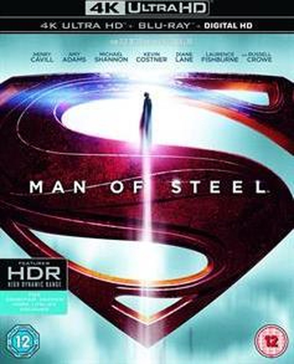 Man Of Steel (4K Ultra HD Blu-ray) (Import)-