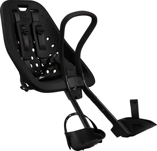 Product: Yepp Mini Fietsstoeltje Voor - Zwart, van het merk Yepp