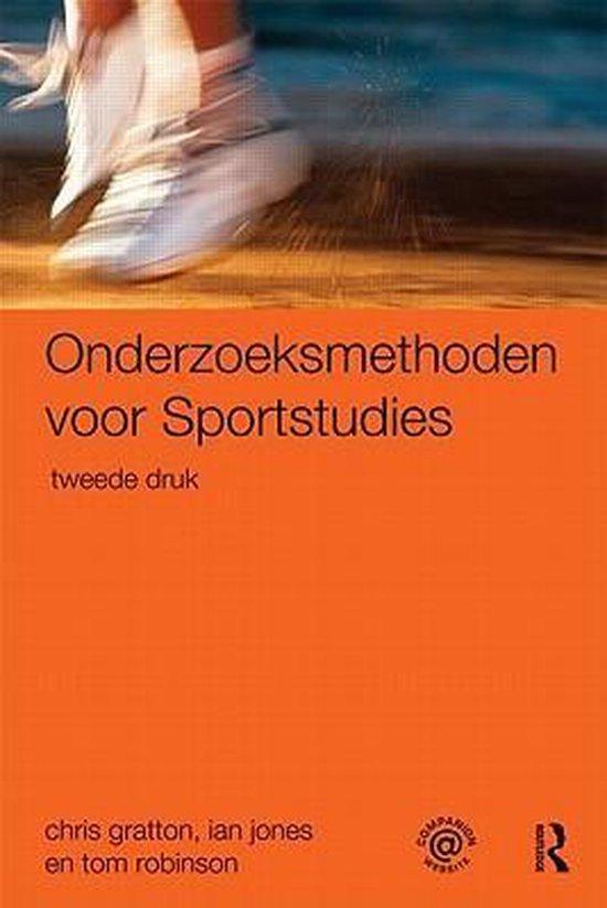 Afbeelding van Onderzoeksmethoden voor sportstudies