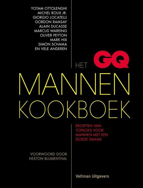 GQ Mannenkookboek, Het. Recepten van topkoks voor mannen met een goede smaak - Onbekend |