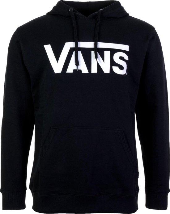 Vans Classic Pullover Hoodie Heren - Maat L - Black/White