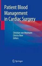 Patient Blood Management in Cardiac Surgery
