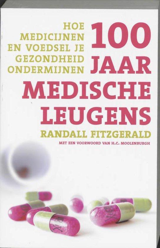 Cover van het boek '100 jaar medische leugens' van R. Fitzgerald