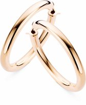 Casa Jewelry Oorringen Pirelli 50 - Rosé Verguld