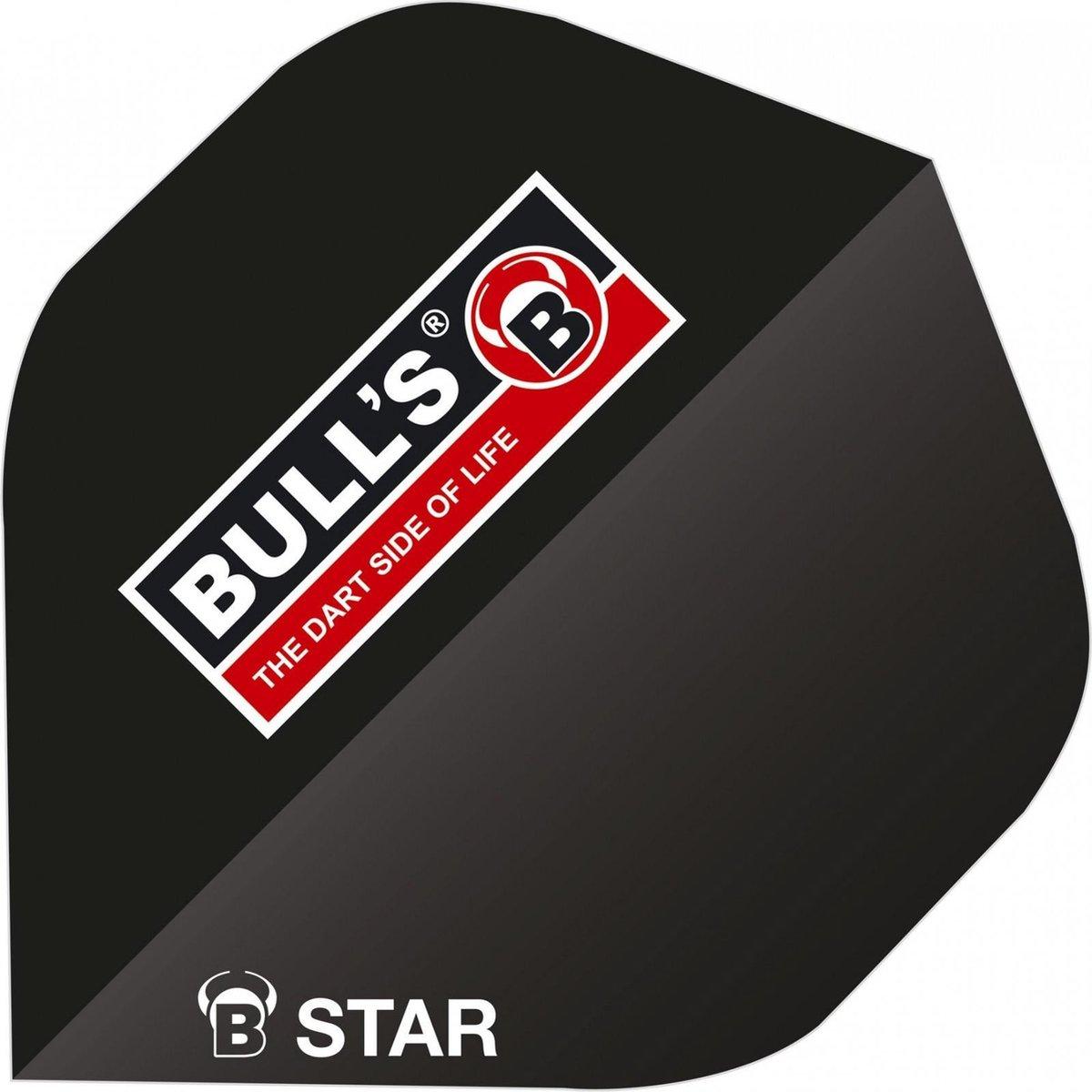 Bull's Flights B-star A-standard 100 Micron Zwart