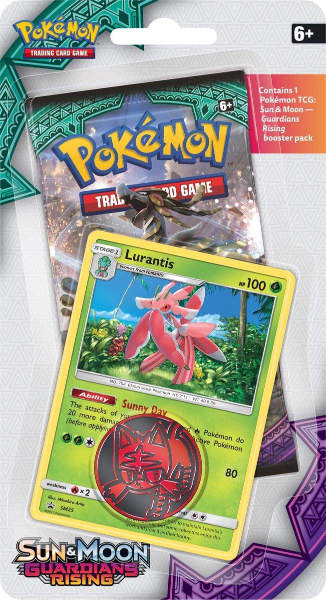 Pokémon Sun & Moon Guardians Rising Checklane Blister Lurantis - Pokémon