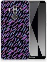 Huawei Mate 10 Pro TPU Hoesje Design Feathers Color