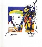 3 x Herman Brood litho David Bowie popserie 1993