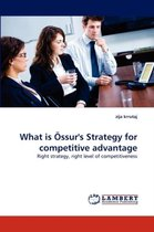 What Is Ossur's Strategy for Competitive Advantage