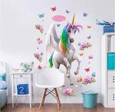 Walltastic Magical Unicorn XXL Muursticker – groot – 1.20 m hoog – kinderen