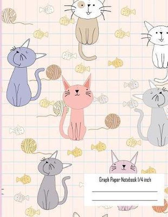 Graph Note Book 1/4 Inches