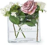 Riviera Maison Flowers Bag Vase - Vaas - Glas