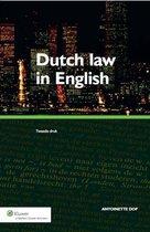 Dutch law in English