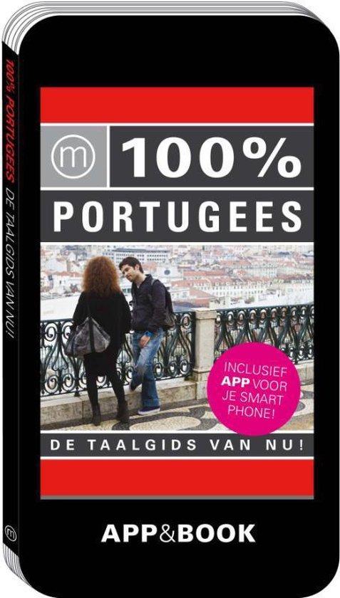 Cover van het boek '100% Portugees' van  Nvt