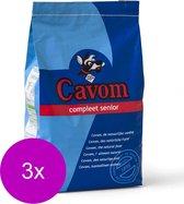 Cavom Compleet Senior Rund&Vlees - Hondenvoer - 3 x 5 kg