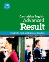 Omslag Cambridge English: Adv Result (for revised 2015 exam) studen