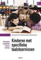 Boek cover Kinderen met specifieke taalstoornissen van Ellen Burger