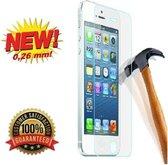 Geschikt voor Apple iPhone 5 / 5C / 5S Tempered Glass Film Screen Protector Explosion Proof - Zilver Edition