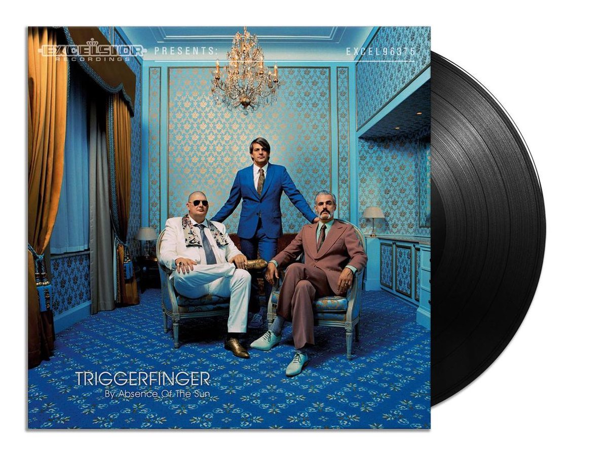 By Absence Of The Sun (LP) - Triggerfinger