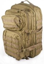 US Assault pack Molle Large rugzak Coyote ca 36 L