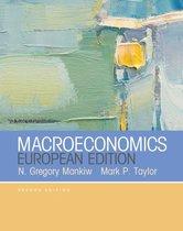 Boek cover Macroeconomics (European Edition) van Mark Taylor (Paperback)