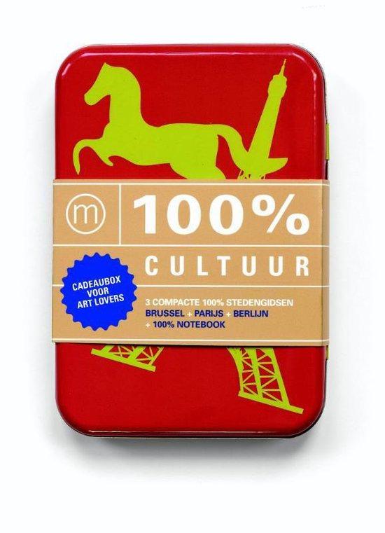 Cover van het boek '100% cultuur - boekbox' van Marjolein den Hartog