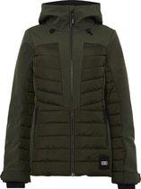 O'Neill Baffle Igneous Jacket Dames Ski jas - Forest Night - Maat M