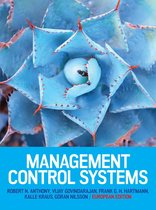 Boek cover Management Control Systems van Robert Anthony (Paperback)