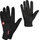 Basic Touchscreen Sport Handschoenen - L - Zwart