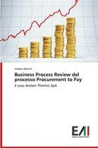Business Process Review del Processo Procurement to Pay