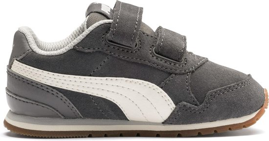 bol.com | Puma Sneakers - Maat 25 - Unisex - grijs/wit