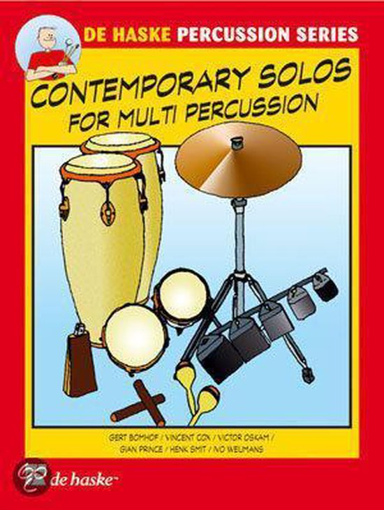 Coutempirary solos for multi percussion - G. Bomhof | Fthsonline.com